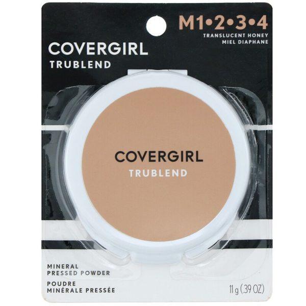 TruBlend، مسحوق مضغوط معدني، عسلي شفاف، 0.39 أونصة (11 جم) Covergirl من متجر روزا في فلسطين