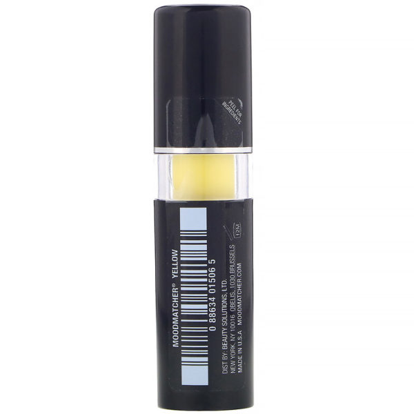 أحمر شفاه، أصفر، 0.12 أونصة (3.5 جم) MOODmatcher من متجر روزا في فلسطين