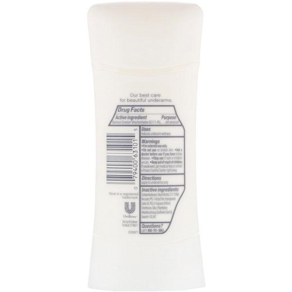 مزيل رائحة العرق المقاوم للتعرق Advanced Care، شفاف منعش، الوزن 2.6 أوقية (74 جم) Dove من متجر روزا في فلسطين
